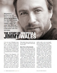 Jimmy Wales first page