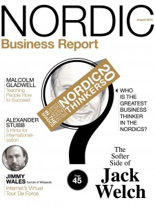 Nordic Business Report cover