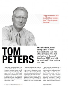 Peters first page