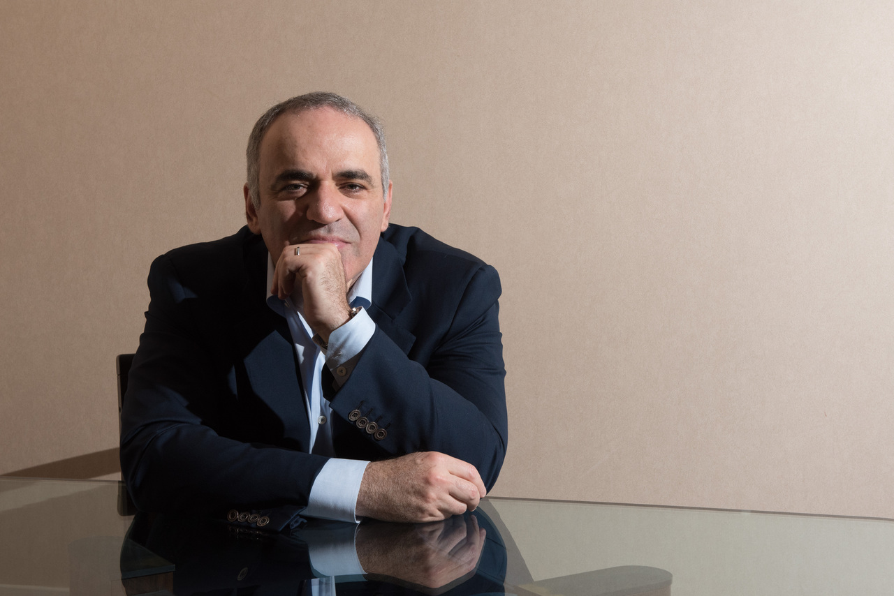 Garry Kasparov, Photo credit: Paula Ojansuu